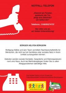 Bürger-Notfall-Telefon