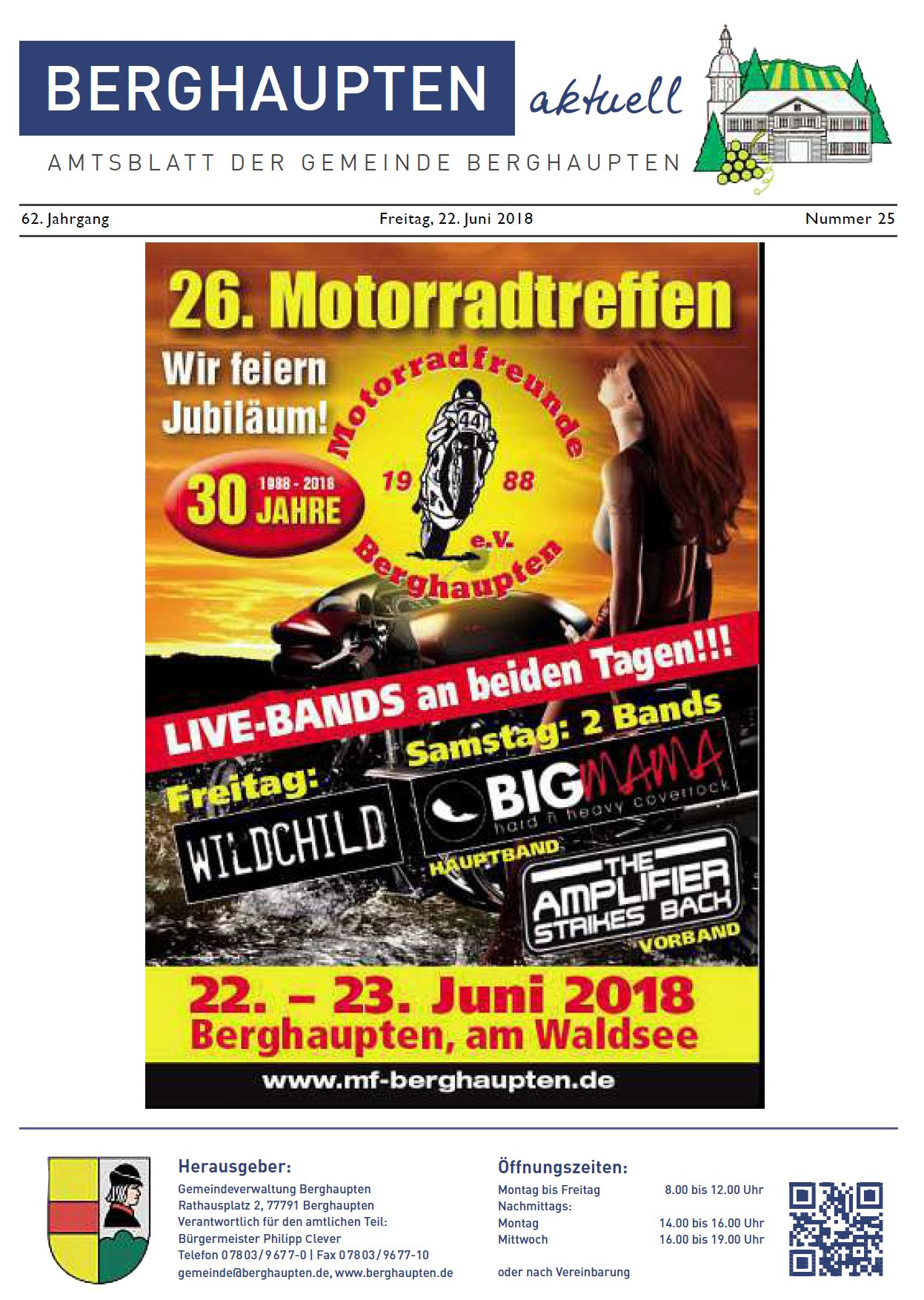 Amtsblatt 2018 KW 25