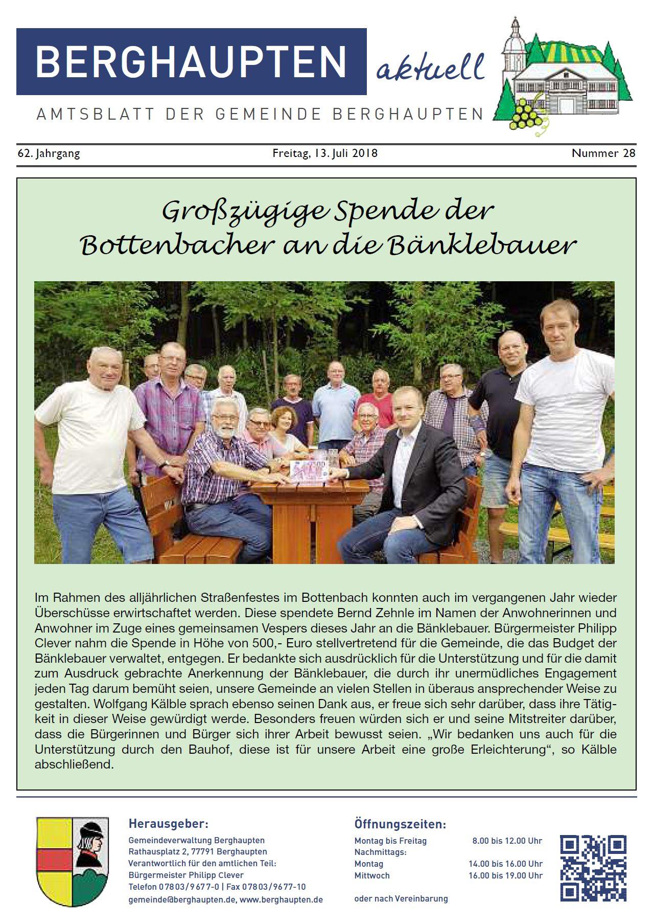 Amtsblatt 2018 KW 28