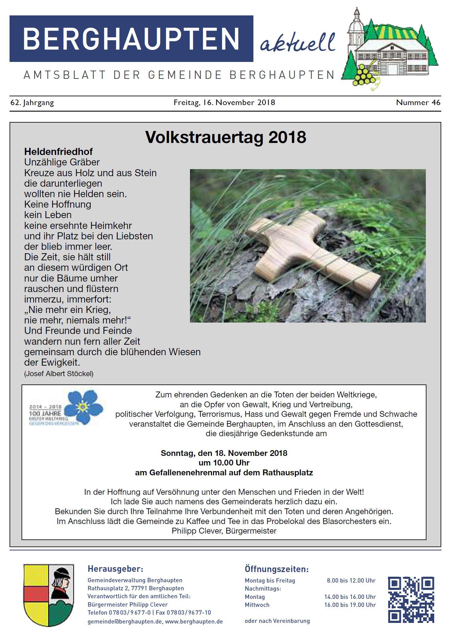 Amtsblatt 2018 KW 46