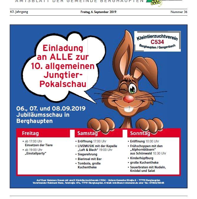 Amtsblatt 2019 KW 36