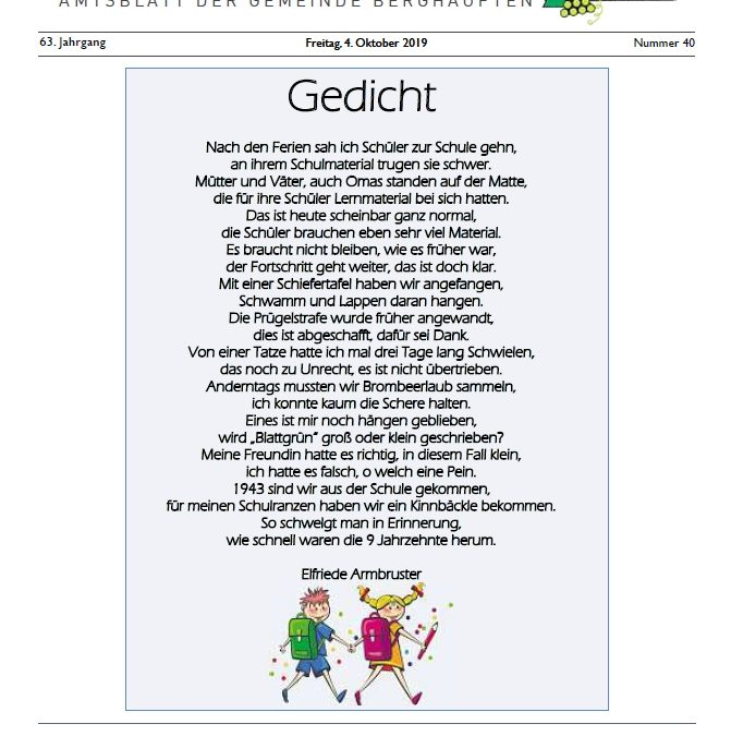 Amtsblatt 2019  KW 40
