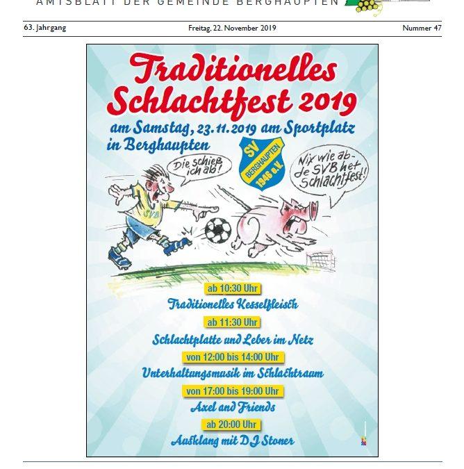 Amtsblatt 2019 KW 47