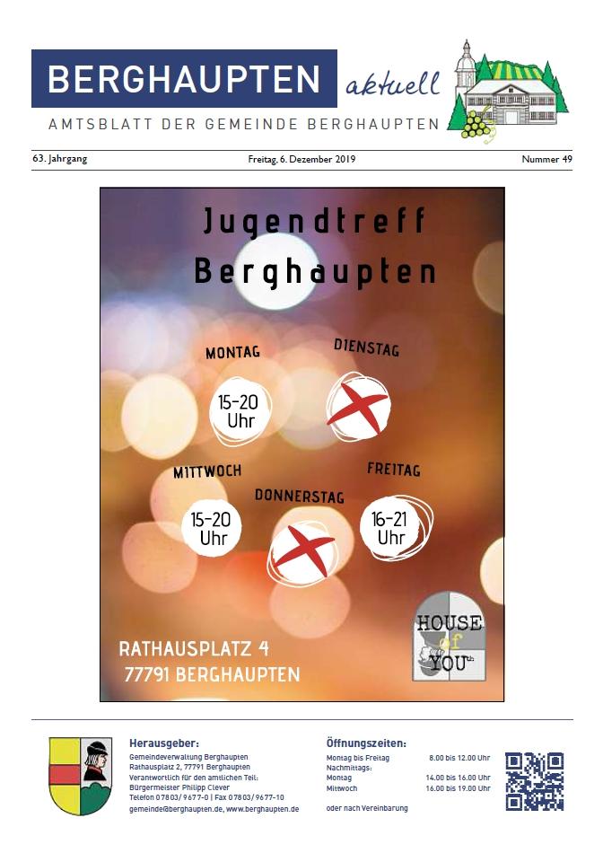 Amtsblatt 2019 KW 49