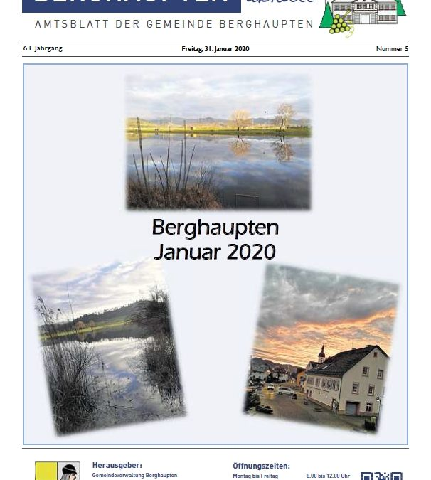 Amtsblatt 2020 KW 05