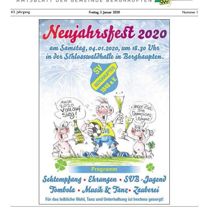 Amtsblatt 2020 KW 01