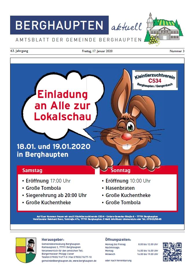 Amtsblatt 2020 KW 03