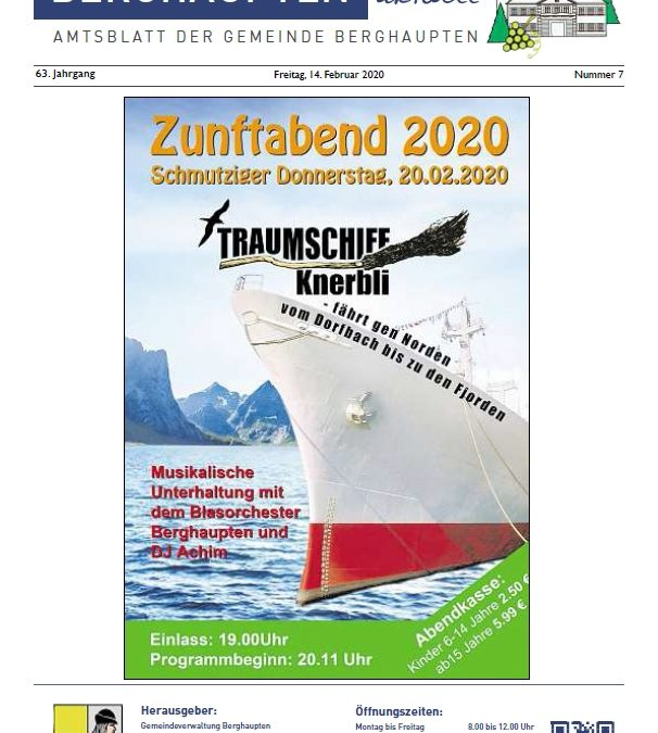 Amtsblatt 2020 KW 07