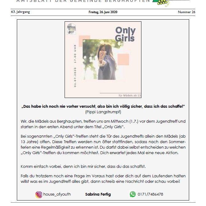 Amtsblatt 2020 KW 26
