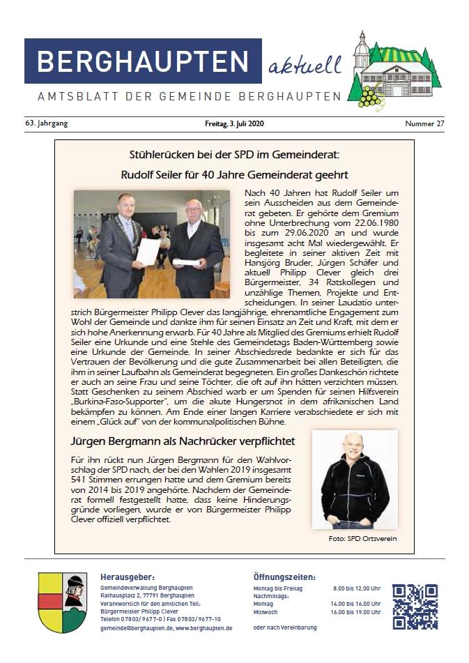 Amtsblatt 2020 KW 27