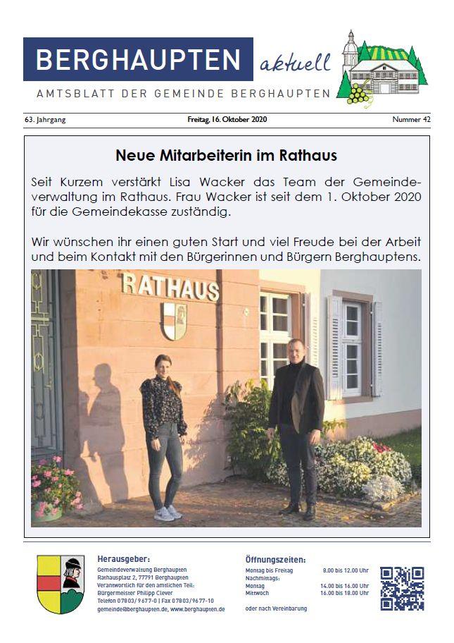 Amtsblatt 2020 KW 42
