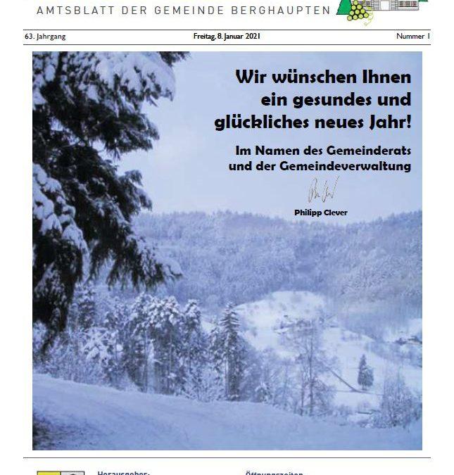 Amtsblatt 2021 KW 1