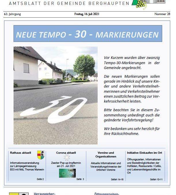Amtsblatt 2021 KW 28