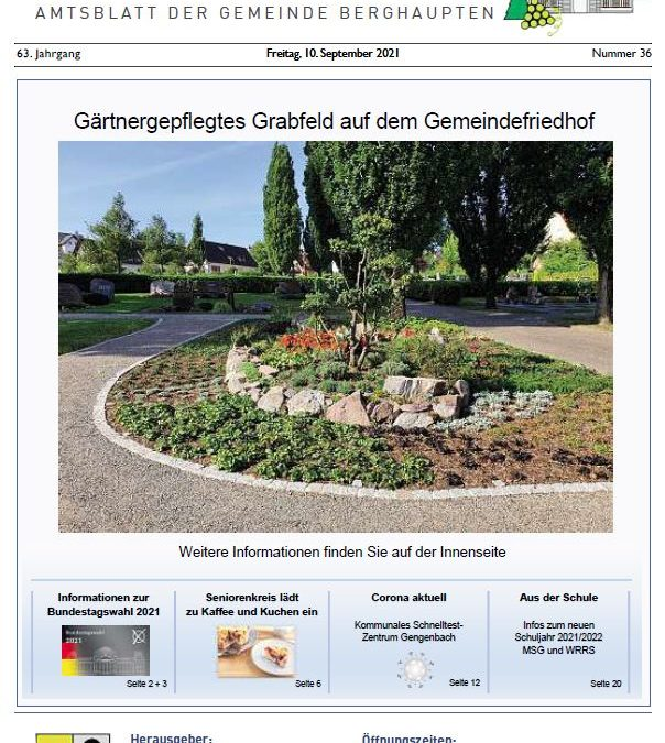 Amtsblatt 2021 KW 36